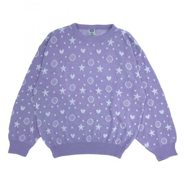 Suéter estrellas y corazones image